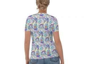 YHVH All Over Print Women's T-shirt